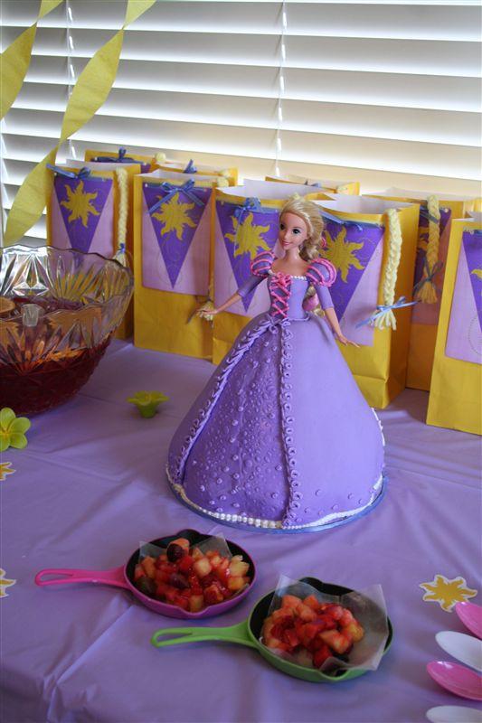 rapunzel birthday cake dennas ideas
