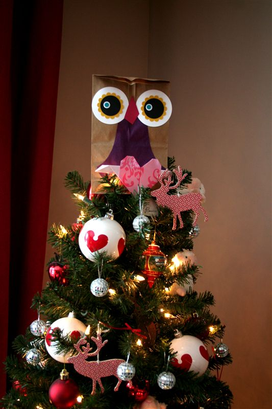 Owl Tree Topper. Cool The Owl Puppet Or Really Any Hand Puppet ...