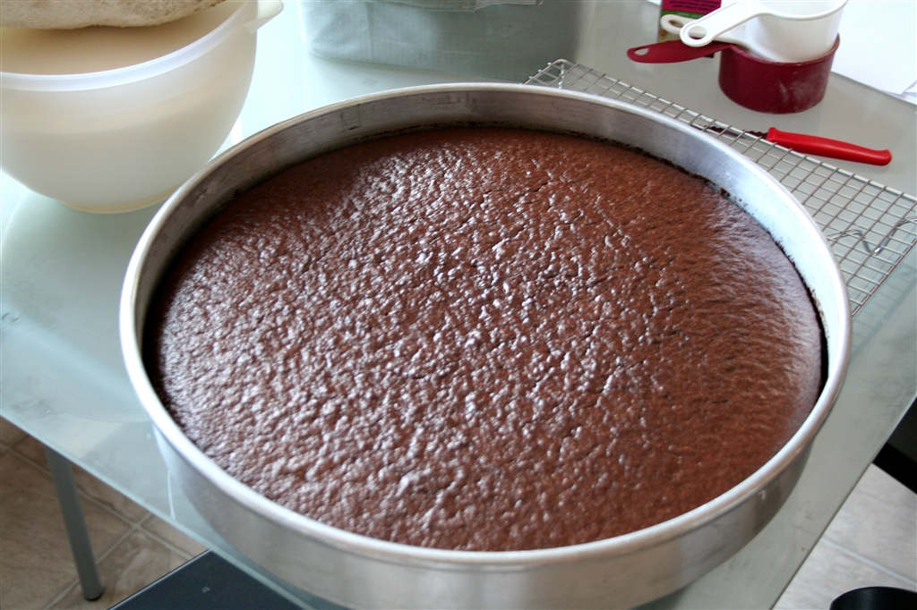 For Some Reason I Wanted To Make A Chocolate And Cherry Cake So Decided Different Layers This Took Bit Of Experimenting