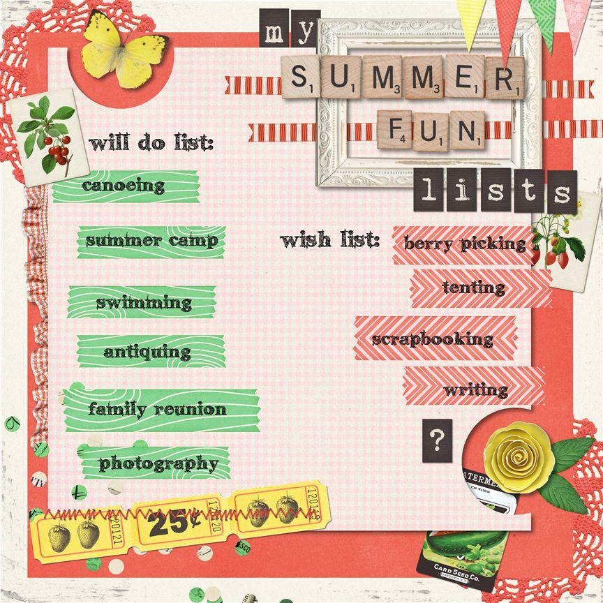 Summer Bucket List Denna S Ideas