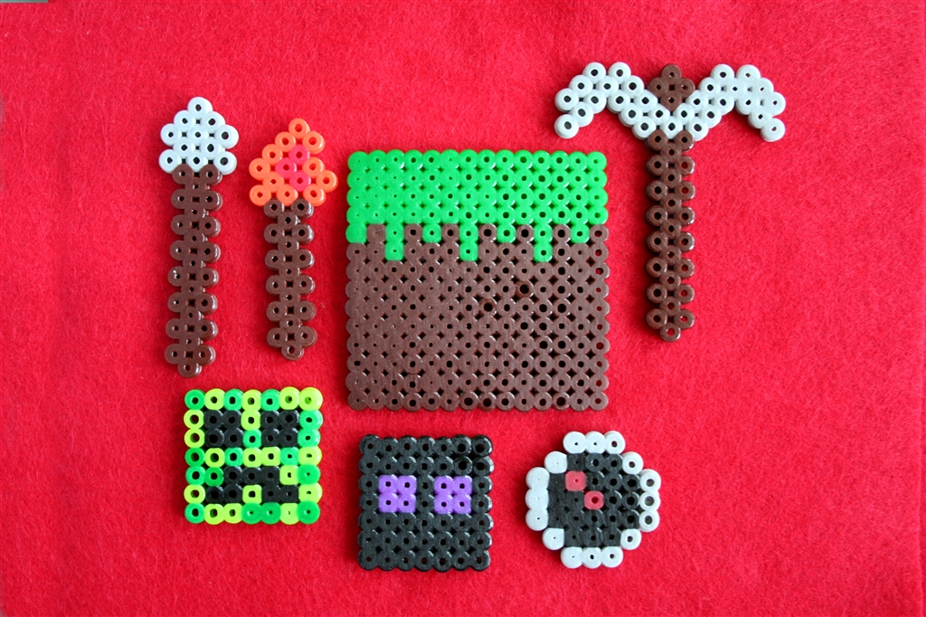 Lovely Bead Craft Ideas For Kids Part - 9: ... Perler Beads Are Plastic Beads ...