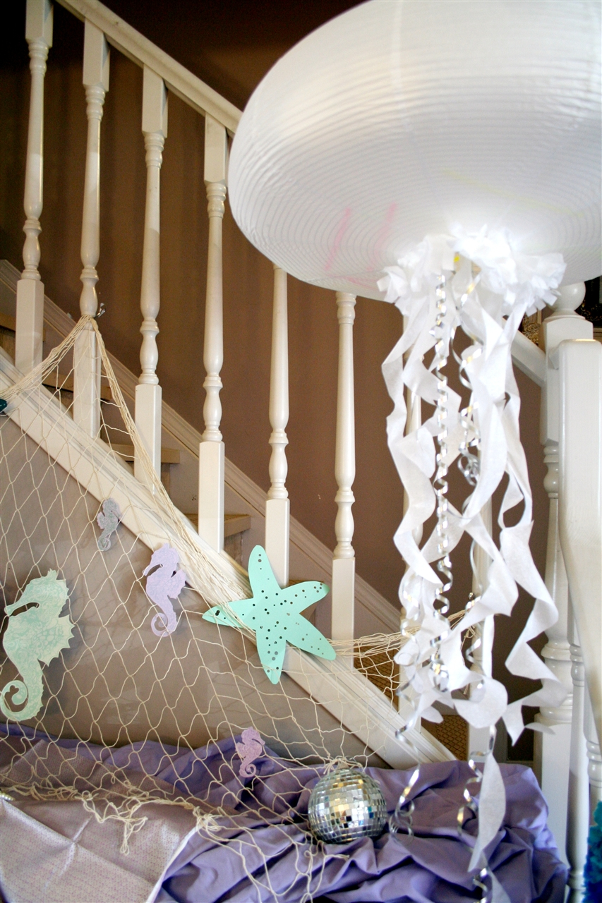 Diy Jellyfish Decorations How To Turn Paper Lanterns Into Amazing Floating Jellyfish