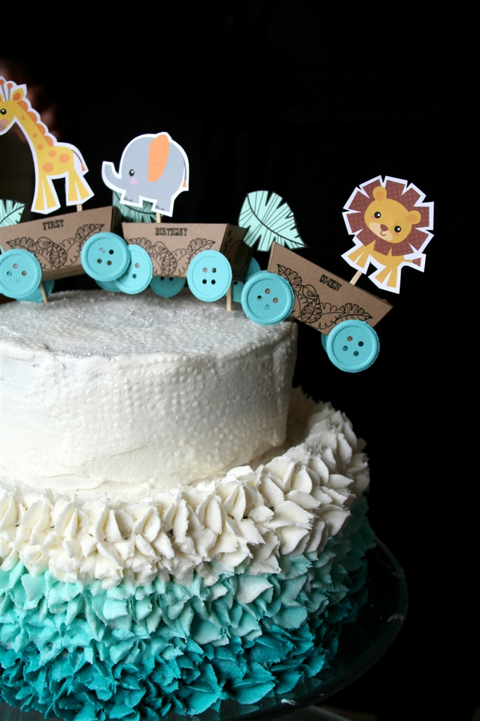 Baby Boy One Year Birthday Cake topper by dennas ideas dennas ideas