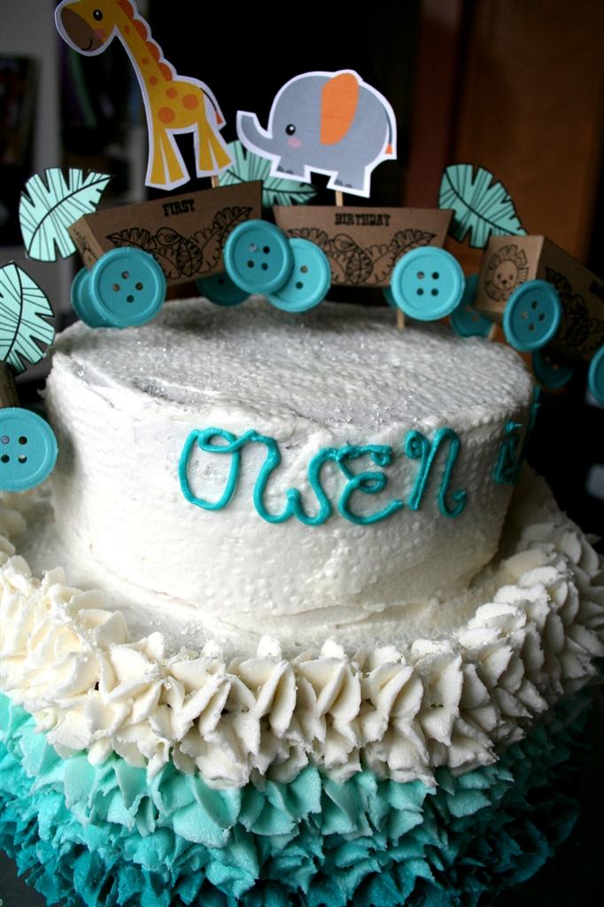 Groovy Baby Boy One Year Birthday Cake Topper By Dennas Ideas Dennas Funny Birthday Cards Online Inifodamsfinfo