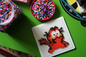 denna's ideas: Garfield perler beads for party