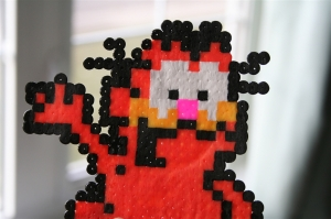 denna's ideas: Garfield Party perler bead Garfield