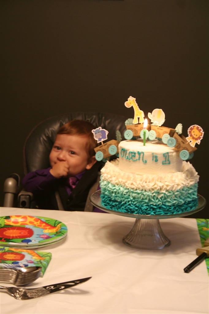 Baby Boy Birthday Cake Topper By Dennas Ideas