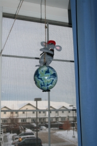 denna's ideas: new tradition, the Christmas mouse in the house!