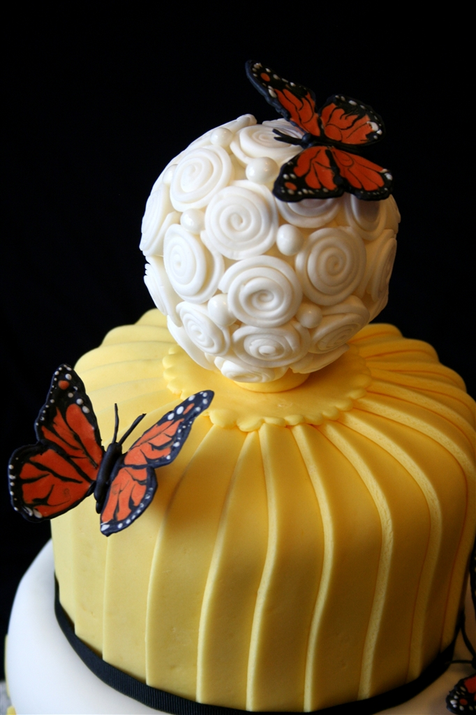 butterfly wedding cake | denna\'s ideas