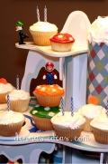 Super Mario Bros. cupcakes.