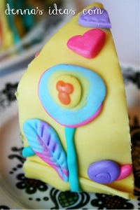 denna's ideas-sunshine lollipops and rainbow cake
