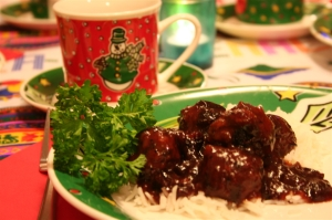 denna's ideas: Christmas and New Year's Cranberry Meatballs