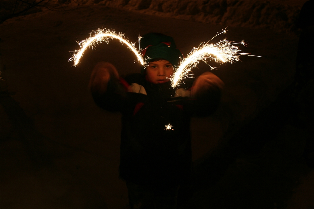... very happy little celebration! Happy New Year and to all a Goodnight