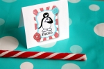Pingu Penguin Party for a Toddler, or Fiesta Pingüino!
