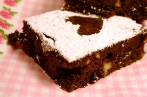 gluten free chocolate brownies with black beans tested by denna's ideas
