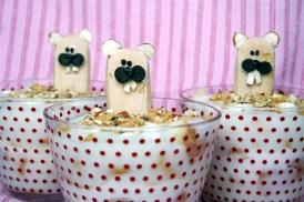 Groundhog day mini trifles