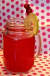 Perfect Valentines' Beverage: Hot Pink Punch!!