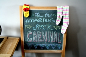 the amazing sock carnival by denna's ideas