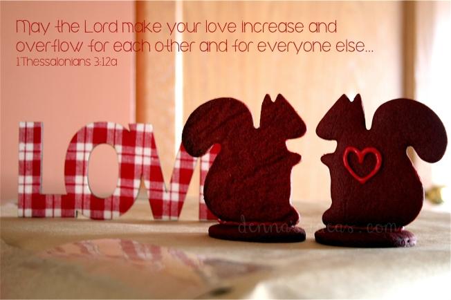 valentine's day squirrel cookies by denna's ideas