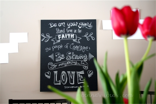 Valentine's Day Chalkboard by denna's ideas - Page 001