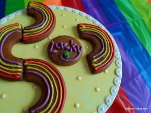 denna's ideas: St. Patrick's Day Ideas Lucky Rainbow Cookies
