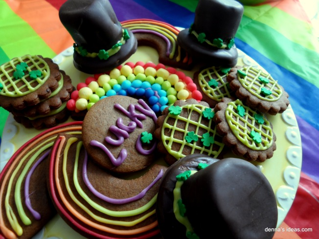 denna's ideas: St. Patrick's Day Cookies