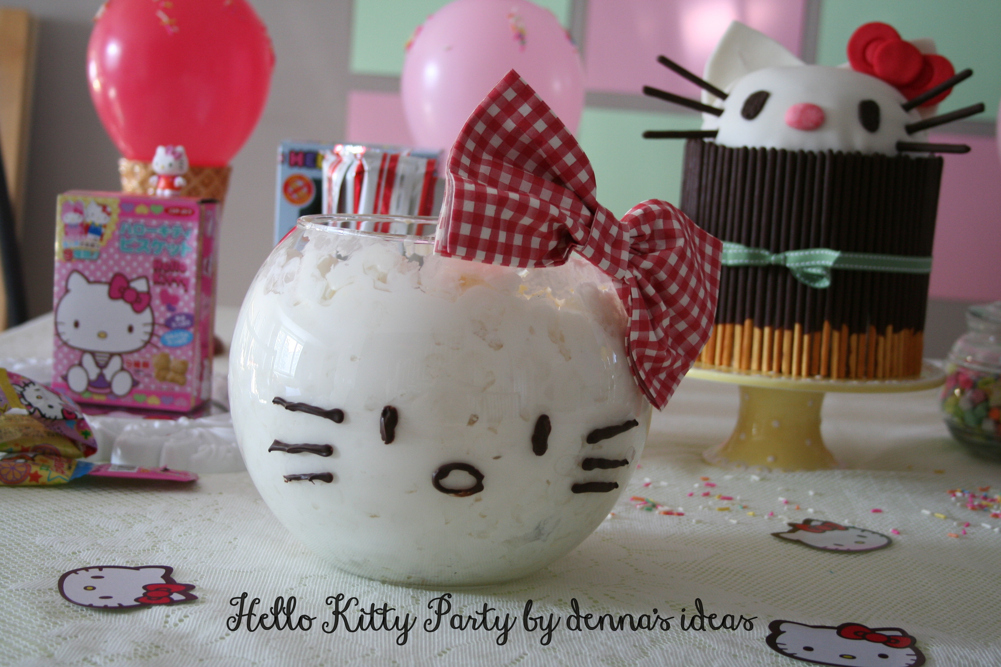 Dennas Ideas Hello Kitty Party