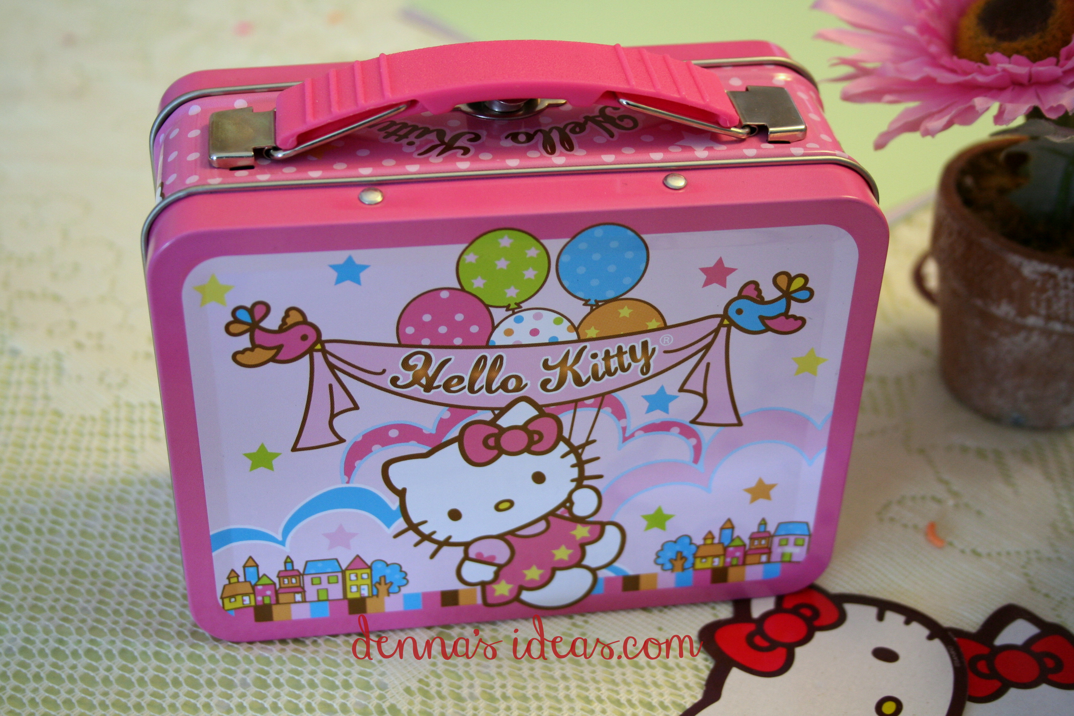 Scrapbook ideas hello kitty - And Something New Denna S Ideas Hello Kitty Party Ideas Hk Lunchbox