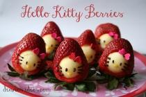 Hello Kitty in Strawberries!
