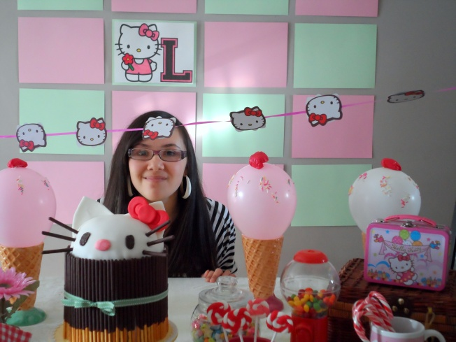 enna's ideas: Hello Kitty Party ideas, my girl