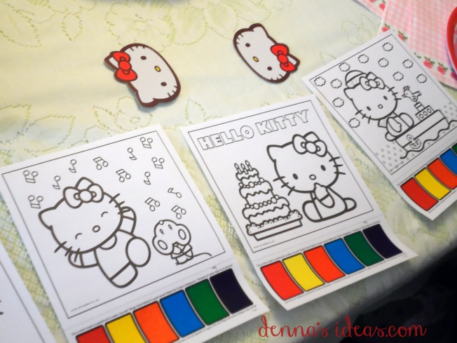 denna's ideas: Hello Kitty Party favors