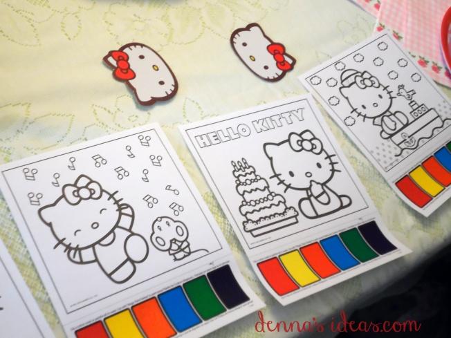 denna's ideas: Hello Kitty Party favors