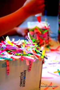 denna's ideas: how to make a recycled mini piñata