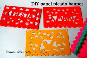 denna's ideas: papel picado banner