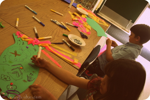 denna's ideas: making koinobori flying carp to celebrate Children's Day