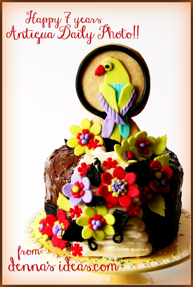 denna's ideas: mayo fiesta bird cake