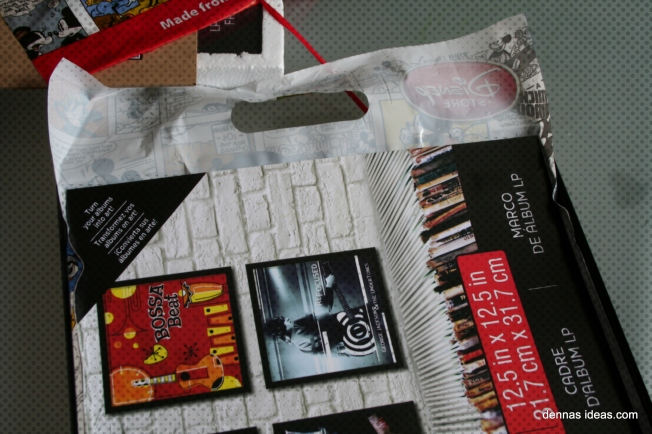 denna's ideas: 10 minute wall art from plastic shopping bags