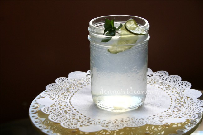 denna's ideas: mint and lavender lemonade from my garden