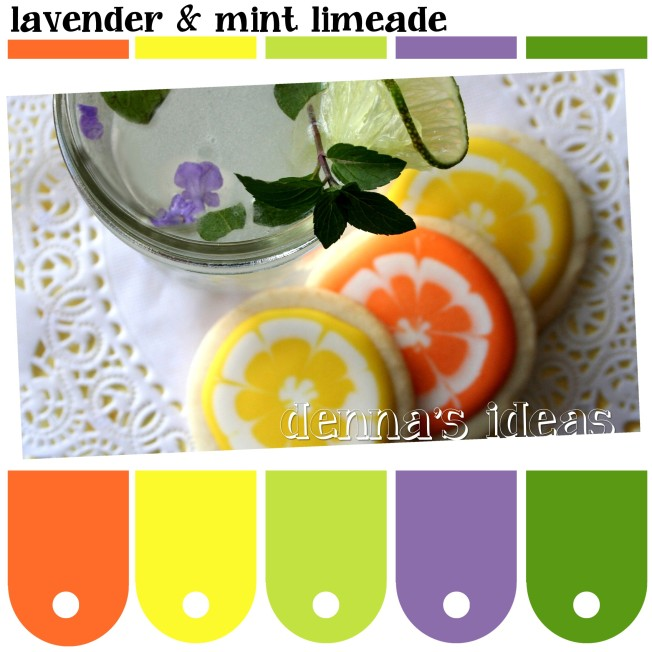 lavender & mint limeade Color Palette by dennas ideas.com - Page 061