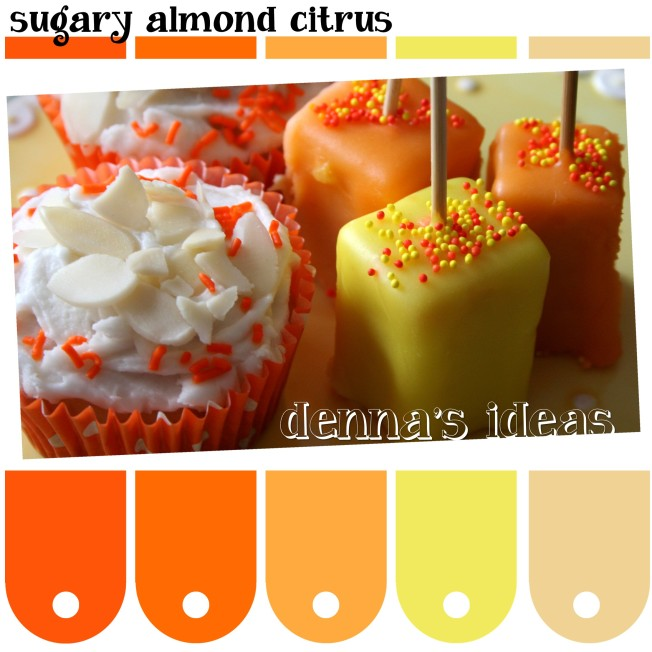 sugary almond citrus Color Palette by dennas ideas.com - Page 063