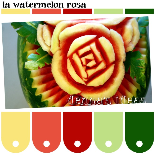 la watermelon rosa Color Palette by dennas ideas.com - Page 064