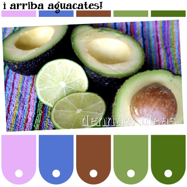 arriba aguacates Color Palette by dennas ideas.com - Page 065