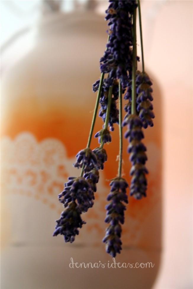 dennasideas.com_my garden harvest - lavender