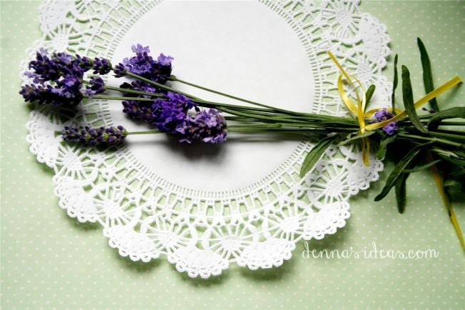 dennasideas.com_my garden harvest - lavender harvest