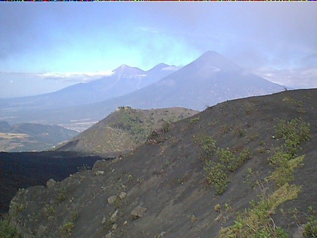 scene from pacaya volcano photographed by Sam Ovalle