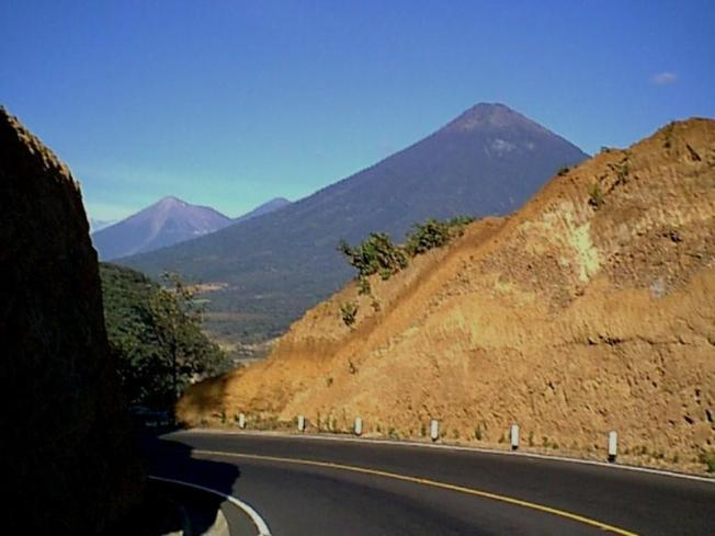 volcanos of Guatemala photographed by Sam Ovalle