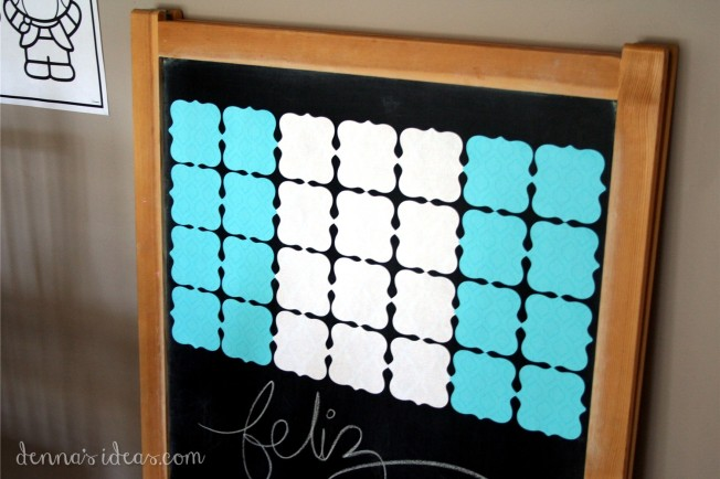 denna's ideas: post-it note art for el 15 de septiembre