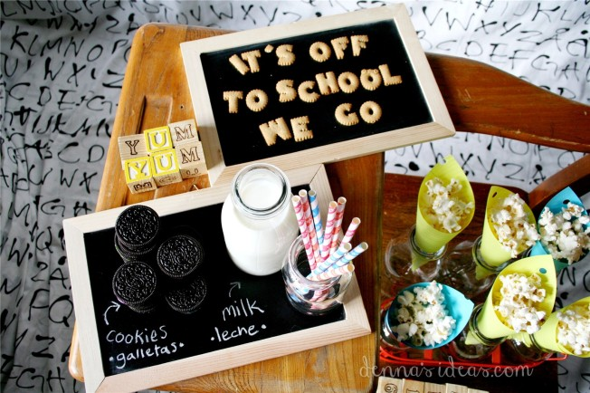 denna's ideas: back to school party snacks