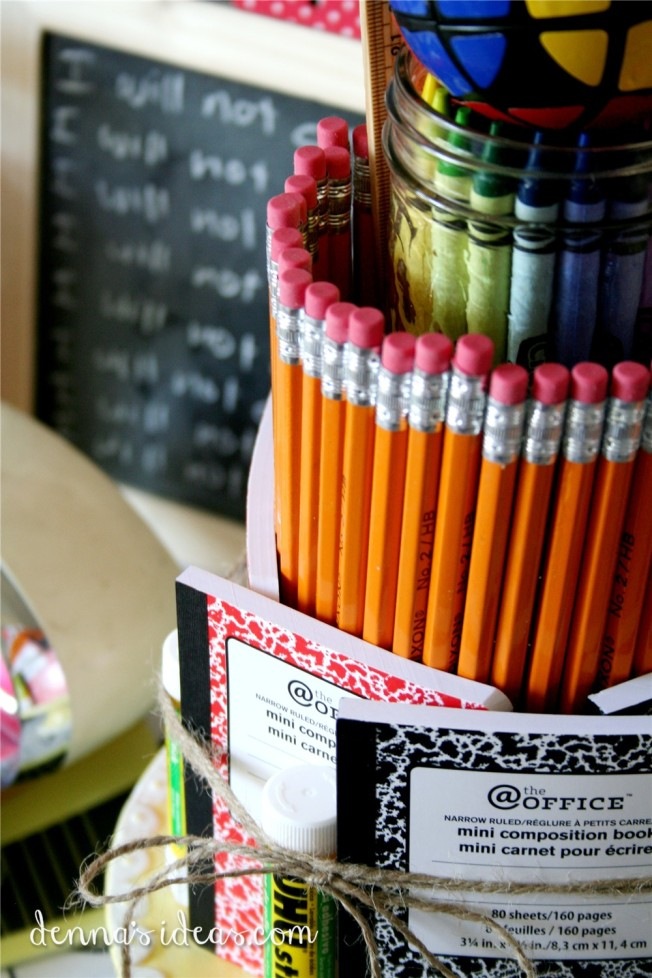 ddenna's ideas: back to school party