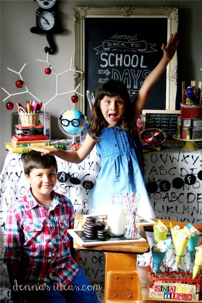 denna's ideas: back to school party